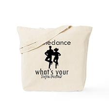 I Linedance Tote Bag