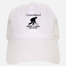 I Lawnbowl Baseball Baseball Cap