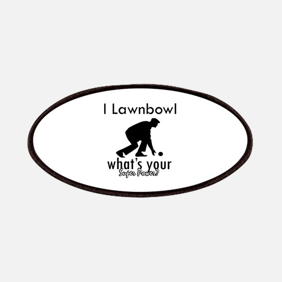 I Lawnbowl Patches