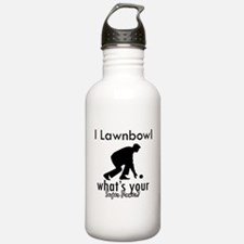 I Lawnbowl Water Bottle