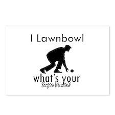 I Lawnbowl Postcards (Package of 8)