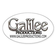 Galilee Oval Decal