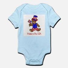 Made in the USA Infant Creeper