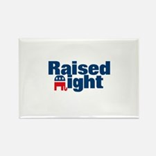 Raised Right Rectangle Magnet