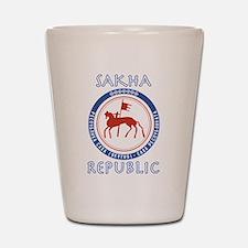 Sakha Republic (Yakutia) Shot Glass
