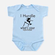 I Hurdle Infant Bodysuit