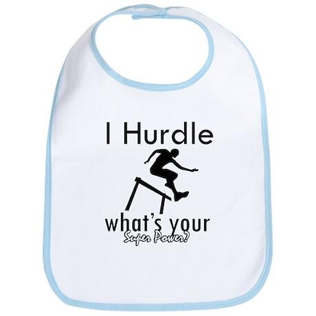 I Hurdle Bib