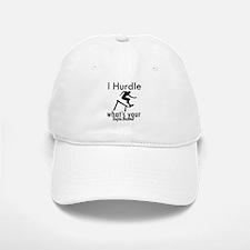 I Hurdle Baseball Baseball Cap