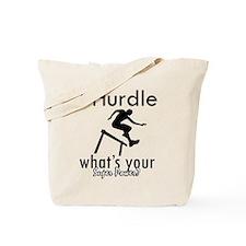 I Hurdle Tote Bag