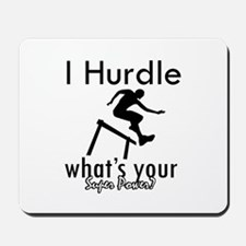 I Hurdle Mousepad