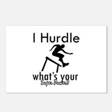 I Hurdle Postcards (Package of 8)