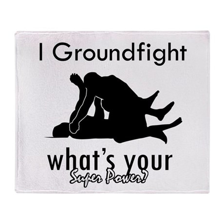 I Groundfight Throw Blanket