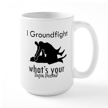 I Groundfight Large Mug