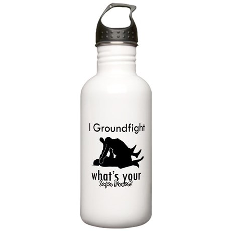 I Groundfight Stainless Water Bottle 1.0L