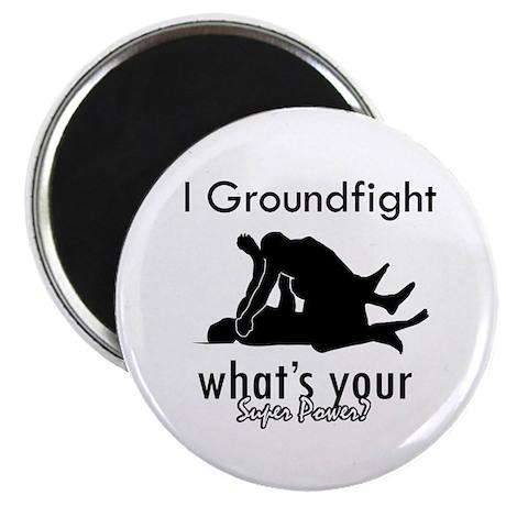 "I Groundfight 2.25"" Magnet (100 pack)"