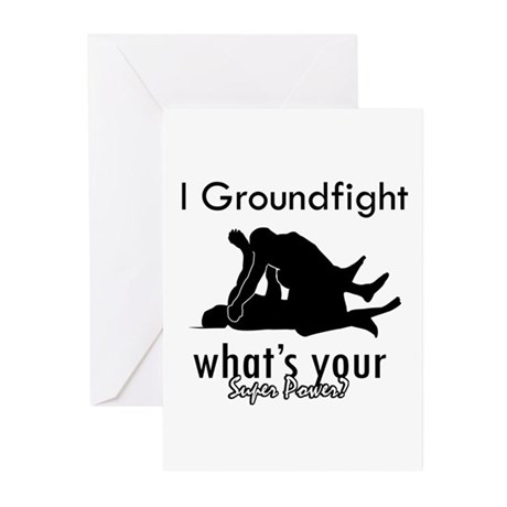 I Groundfight Greeting Cards (Pk of 10)