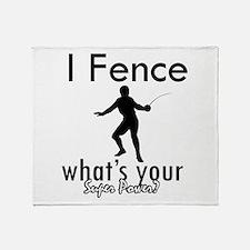 I Fence Throw Blanket