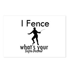 I Fence Postcards (Package of 8)
