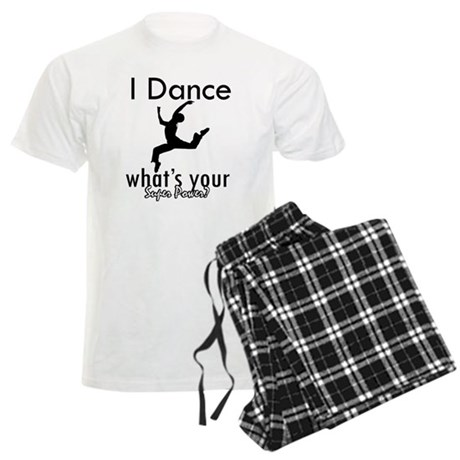 I Dance Men's Light Pajamas