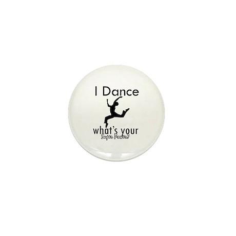 I Dance Mini Button (10 pack)