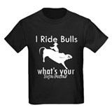 Bull riding Kids T-shirts (Dark)