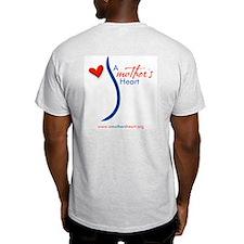 A mother's heart ~ Ash Grey T-Shirt