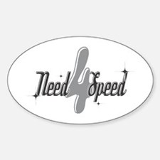Need 4 Speed Oval Decal