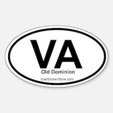 Virginia Oval Decal