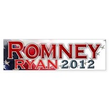 Romney Ryan 2012: Bumper Sticker