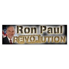 Ron Paul REVOLUTION - Bumper Sticker