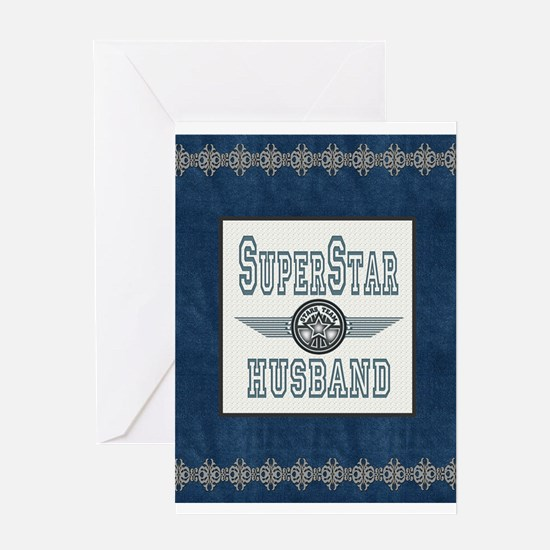 Superstar Husband Greeting Card