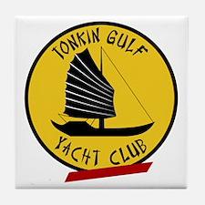 Tonkin Gulf Yacht Club Tile Coaster