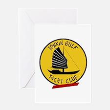 Tonkin Gulf Yacht Club Greeting Card