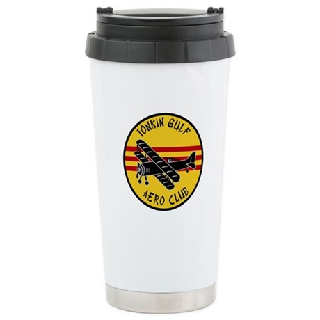Tonkin Gulf Aero Club Stainless Steel Travel Mug