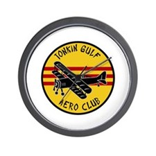 Tonkin Gulf Aero Club Wall Clock