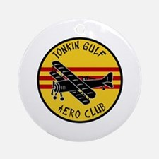 Tonkin Gulf Aero Club Ornament (Round)