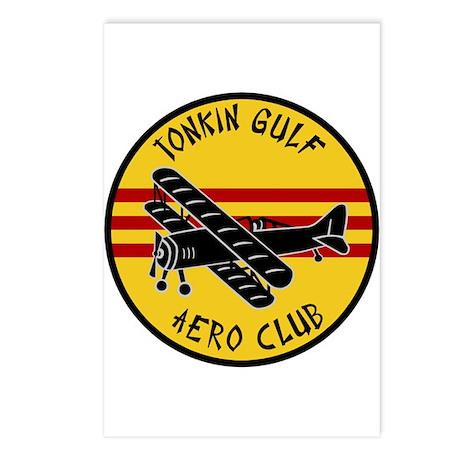Tonkin Gulf Aero Club Postcards (Package of 8)