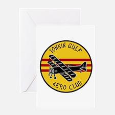 Tonkin Gulf Aero Club Greeting Card