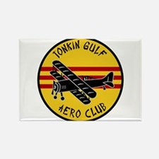 Tonkin Gulf Aero Club Rectangle Magnet