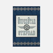 Superstar Stepdad Rectangle Magnet
