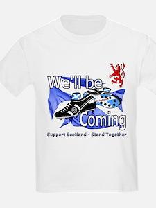 Tartan Army Boys Scotland T-Shirt