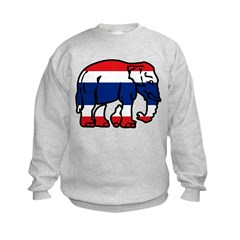 Thai Elephant Flag Sweatshirt