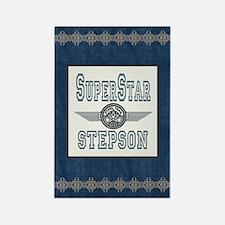 Superstar Stepson Rectangle Magnet