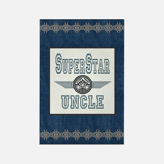 Superstar Uncle Rectangle Magnet