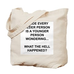 Old vs. Reality Tote Bag