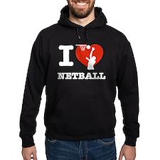 I love Netball Hoodie