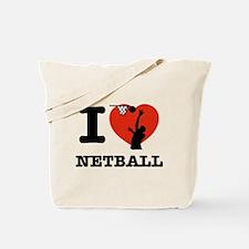I love Netball Tote Bag