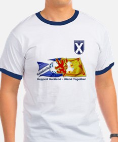 Stand Together Tartan Army T