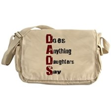 Dads Messenger Bag