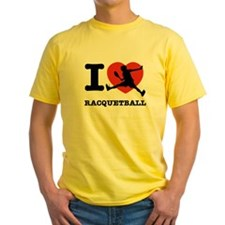 I love Racquetball T